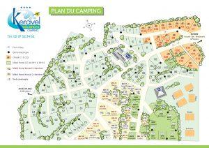 Plan camping Keravel 2020